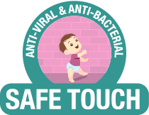 Anti-Viral & Anti-Bacterial - Safe Touch