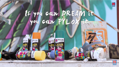 Pylox Spray Paint - The Boyhood Dream