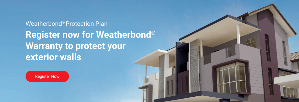 Weatherbond, no matter the weather.